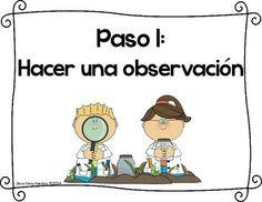 Little-Scientists-Scientific-Method-Posters-in-Spanish-1163017 Teaching…