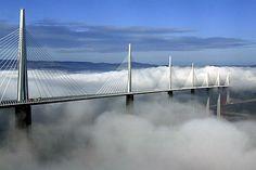 Millau, el puente mas alto del mundo