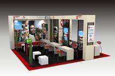 Exhibition Design by Carolina Gomez at Coroflot.com