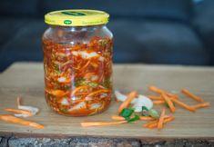 Polopatický návod na kimchi, korejské národní jídlo plné probiotik a vitamínů (vegan verze) - Superkvašáci : Superkvašáci Kimchi, Mason Jars, Canning Jars, Glass Jars, Jars