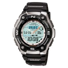 Shop for Casio Men's Fishing Gear Digital Watch. Get free delivery On EVERYTHING* Overstock - Your Online Watches Store! Casio Protrek, Sport Watches, Cool Watches, Watches For Men, Popular Watches, Retro Watches, Women's Watches, Watches Online, Vintage Watches