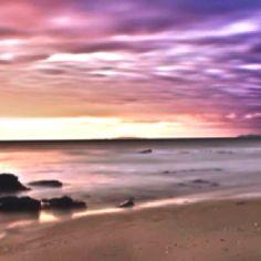 Sunrise at Tannum Sands Qld Australia, beautiful