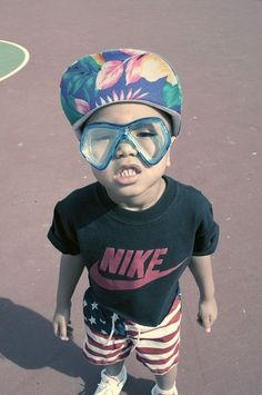 Hipster kid.