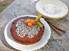 Blog de cuina de la dolorss: Tarta de chocolate y trufa