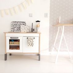 Kitchen styling for my little boy