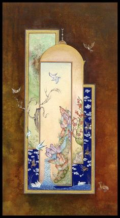 Şehnaz Biçer Özcan Islamic Motifs, Islamic Art, Japanese Tattoo Art, Persian Culture, Iranian Art, Turkish Art, Calligraphy Art, Islamic Calligraphy, Japanese Artists