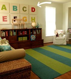 ABC canvas print, decor kids room info@tucanvas.com