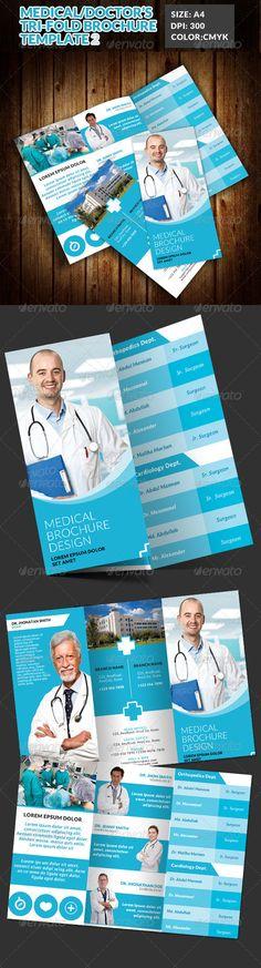 Doctor Medical Hospital Health Tri-Fold Brochure 2