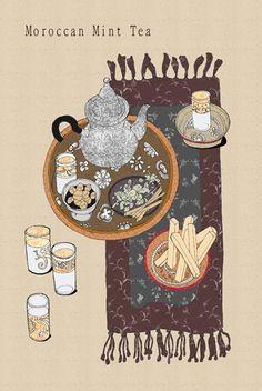 I love Moroccan mint tea!