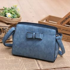 Retro Hollow Flower Bow Shoulder Bag Messenger Bag Shoulder Bags - Fashion Bags - ByGoods.com