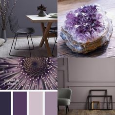 - - You are in the right place about feng shui home crystals Here we offer you the most beautiful pictures about the feng shui home zen you are looking for. When you examine the - - part of the pictur Purple Home, Feng Shui Home Office, Most Beautiful Pictures, Cool Pictures, Purple Color Schemes, House Map, Purple Interior, Home Staging, Dream Bedroom