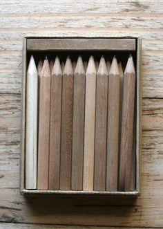 9 shades of beige. Image Crayon, Pale Dogwood, Led Pencils, Wooden Pencils, Shades Of Beige, Beige Aesthetic, Corporate Design, Wabi Sabi, Neutral Colors