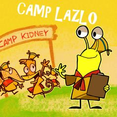 Lazlo Raj Clam And Slinkman Camp C Joe Murray Productions Cartoon Network Studios Warner Bros