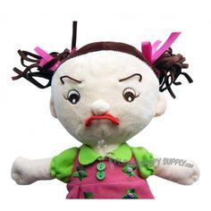 Emotiplush Facial Expression Learning Doll: Caucasian Girl
