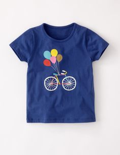 I've+spotted+this+@BodenClothing+Glittery+Print+T-shirt+Soft+Navy+Bike