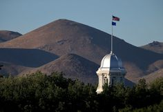 The historic and iconic silver dome of the #Nevada State Capitol building. #CarsonCity #architecture #History