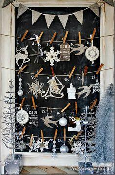 Advent Calendar . http://www.thistlewoodfarms.com/get-the-look-advent-calendar