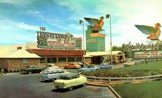 Thunderbird (1948) - Silverbird (1977) - El Rancho Casino (1982-1992) *Countryland USA was to open, but never did. Now the unfinished Fontainebleau sits here*