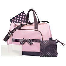 Baby Essentials 4-in-1 Diaper Bag - Pink/$29