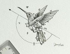 tattoo ideas /tattoo design / tattoo arm / tattoo for men / tattoo for women / tatoo geometric / tattoo skull / Tattoo small / Tattoo geometric Arm Tattoos For Guys, Small Tattoos, Geometric Hummingbird Tattoo, Geometric Drawing, Geometric Tattoo Animal, Skull Illustration, Cat Tattoo, Tattoo Arm, Wrist Tattoos