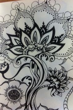 Hand drawn flowers :-)