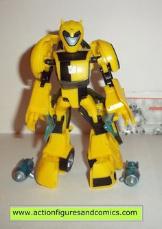 Takara / Hasbro toys TRANSFORMERS animated action figures for sale to buy 2008 BUMBLEBEE 100% COMPLETE & includes instructions Condition: Excellent - nice paint, nice joints - absolutely nothing broke