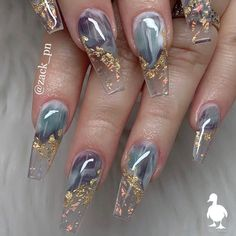 Latest Acrylic Nail Designs for Prom Parties – Nail Art Ideas 2020 - Nail Ar. Glam Nails, Dope Nails, Fun Nails, Blush Nails, Sparkle Nails, Polygel Nails, Summer Acrylic Nails, Best Acrylic Nails, Summer Nails