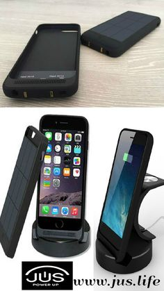 JUS: A Solar Case/Charger that Never Runs Out of Power Ever! JUS looks beautiful, ultra thin and fits your iPhone like skin without adding unnecessary bulk and feels like it is barely there yet built rugged, durable and drop safe to protect your phone. For more details please visit https://www.kickstarter.com/projects/1404887175/jus-never-run-out-of-power-ever-again?ref=project_tweet http://www.jus.life/