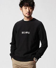 BEAMSのBEAMS / BEAMS クルーネックスウェットです。こちらの商品はBEAMS Online Shopにて通販購入可能です。