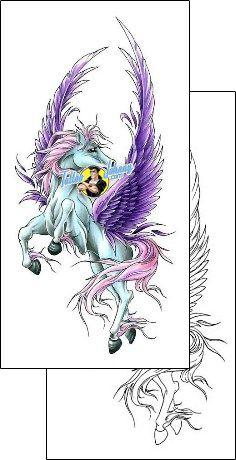 Horse Tattoo animal-horse-tattoos-cherry-creek-flash-ccf-00920