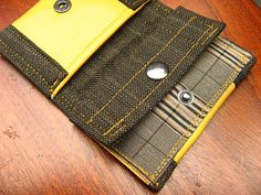 unique custommade wallet smallPocket by acoupleofconcepts on Etsy, €13.00