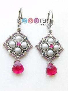 Simple, but sweet design with cabochon beads
