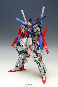 GUNDAM GUY: 1/100 MSZ-010 ZZ Gundam Extra Fit - Resin Kit