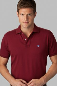 The Skipjack pique polo shirt for men is our best seller for a reason; Polo Classic, Southern Tide, Pique Polo Shirt, Casual Shirts, Mens Tops, Short Film, Garnet, Affirmations, Red