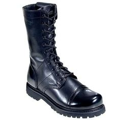 Bates Boots: Men's Side Zip Enforcer Paratrooper Boots 2184