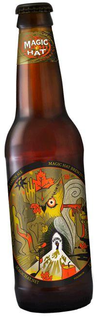 Cerveja Magic Hat Séance, estilo Saison / Farmhouse, produzida por Magic Hat Brewing Company, Estados Unidos. 4.4% ABV de álcool.