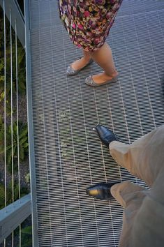 John and I had talked about steel decking for the galley to join the two lofts: Metal Deck, Metal Stairs, Metal Roof, Modern Staircase, Staircase Design, Terrace Floor, Balcony Flooring, Raised Deck, Exterior Stairs