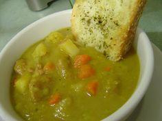 Ina's Split Pea Soup - Smells Like Home