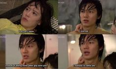 Reasons why Korean drama male leads start out as jerks... but we love them anyway. BOF. Lee Min Ho :)