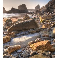Bedruthan Steps, Cornwall*