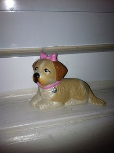 Littlest Pet Shop Missy Dog Beethoven by Kenner Littlest Pet Shop