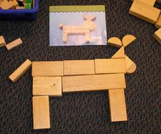 ideas for playing and learning with blocks -- IF ONLY my district saw fit to equip our kindergartens with this most basic of educational materials … Block Center Preschool, Preschool Centers, Preschool Classroom, Preschool Activities, Classroom Ideas, Play Based Learning, Learning Centers, Learning Through Play, Block Play