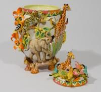 Ubuntu Roots Giraffe Jar, by Intu-Art Africa