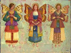 Faith, Hope, and Charity by James Christensen <3