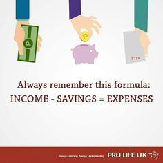 The formula of saving