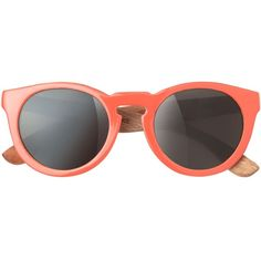 Toast Waiting For The Sun Summer Love Sunglasses found on Polyvore