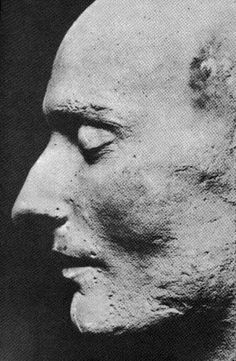 Souvent Life Mask of John Keats, (made by his friend, Benjamin Robert  WR47
