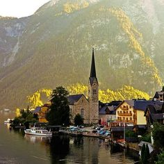 Hallstatt Áustria