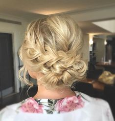 Whether a classic chignon, textured updo or a chic wedding updo with a beautiful details. These wedding updos are perfect for any bride looking for a unique style and hoping to help inspire you!