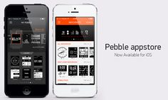 App for #Pebble are available in #AppStore!